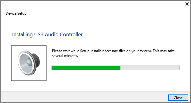 Installing-USB-Audio-Controller