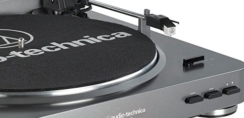 Audio Technica AT-LP60 Silver Buttons