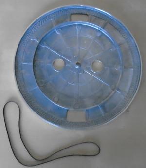platter and belt