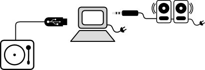 setup-with-computer-and-spekers