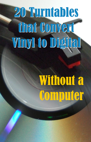transfer vinyl to cd without computer