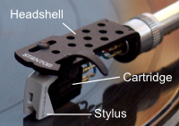Headshell Cartridge Stylus