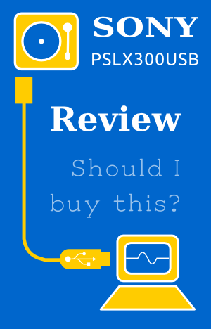 sony pslx300usb review